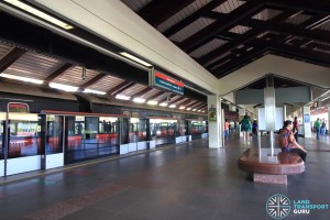 Marsiling MRT Station - Platform level