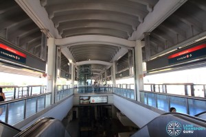 Woodlands MRT Station - Platform level