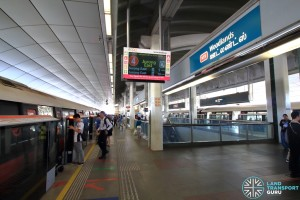 Woodlands MRT Station - Platform A