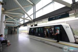 Punggol MRT/LRT Station - PGLRT Platform 1