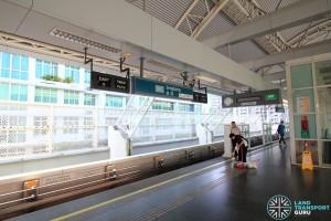 Sengkang MRT/LRT Station - SKLRT Platform 1