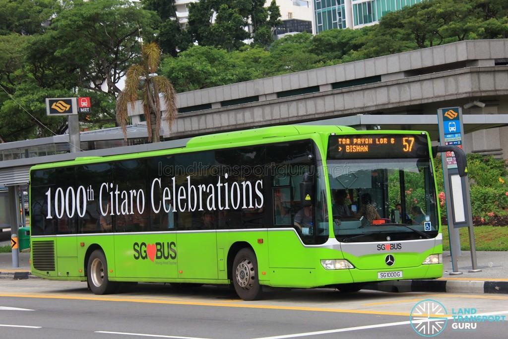 SBS Transit Mercedes-Benz O530 Citaro (SG1000G) - Service 57