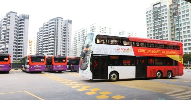 Volvo B9TL (Go-Ahead) training at Punggol Bus Interchange (Aug 2016)