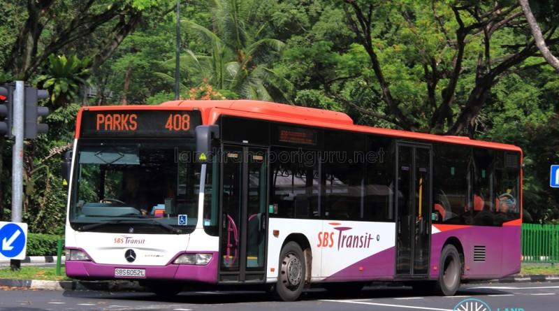 Parks 408 - SBS Transit Mercedes-Benz Citaro (SBS6052L)