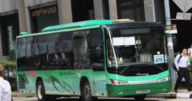Tong Tar Transport Service Zhongtong LCK6103G (PC2048U) - City Direct 670