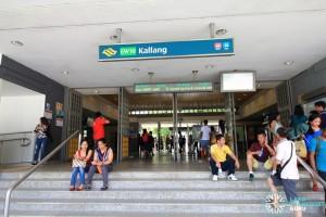 Kallang MRT Station - Station Exit A