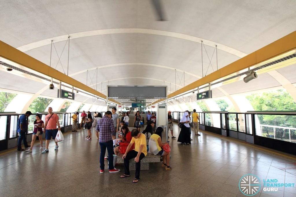 Kallang MRT Station - Platform level