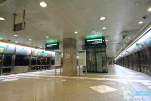 Lavender MRT Station - Platform level