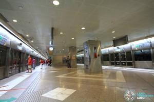 Lavender MRT Station - Platform level
