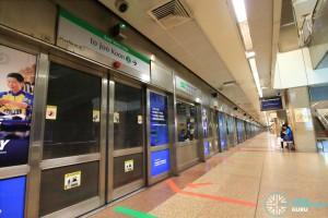 Tanjong Pagar MRT Station - Platform B