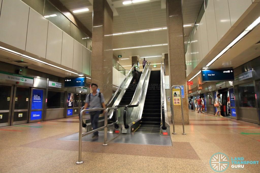 Tanjong Pagar MRT Station - Platform level