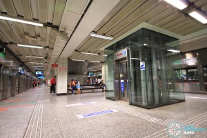Tiong Bahru MRT Station - Platform level