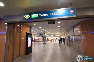 Tiong Bahru MRT Station - Concourse level
