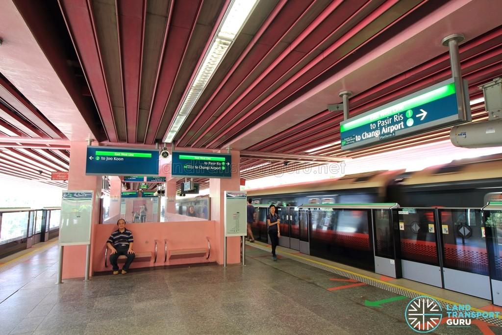 Redhill MRT Station - Platform level