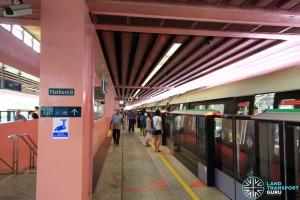Redhill MRT Station - Platform B