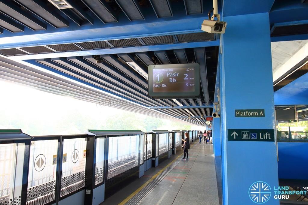 Queenstown MRT Station - Platform A