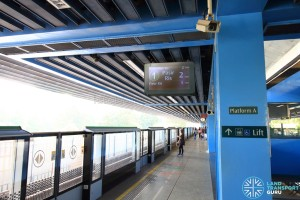 Queenstown MRT Station - Platform A