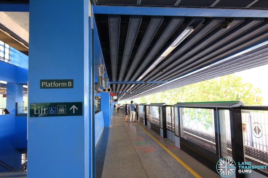 Queenstown MRT Station - Platform B