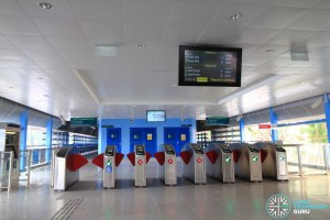 Queenstown MRT Station - New concourse