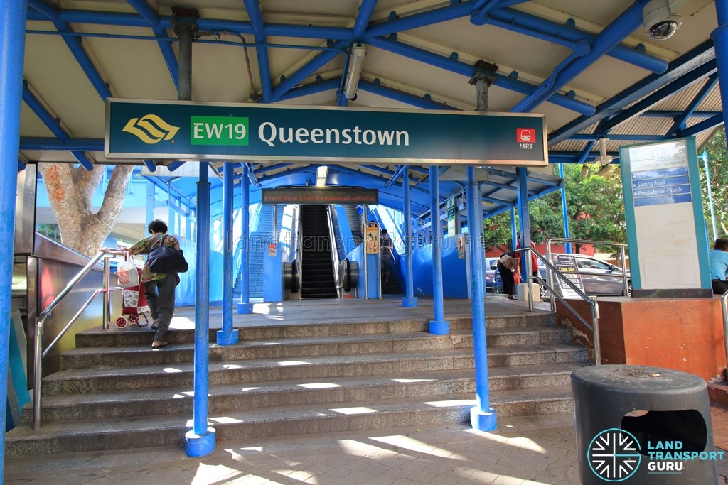 Queenstown MRT Station - Station Exit A