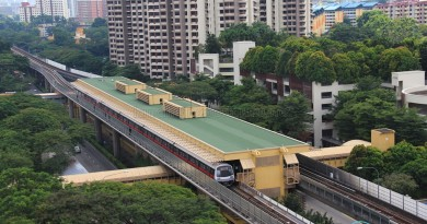 Commonwealth MRT Station - Aerial view