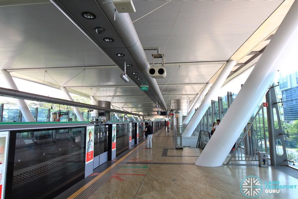 Dover MRT Station - Platform B