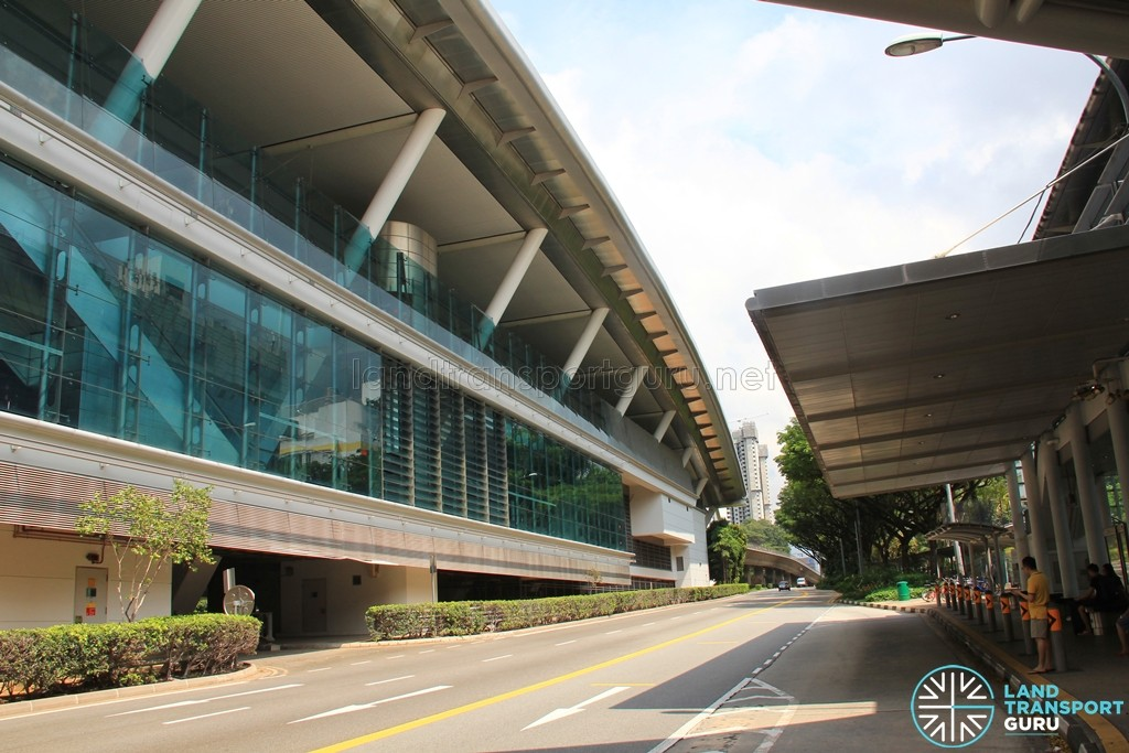 Dover MRT Station - Exterior view