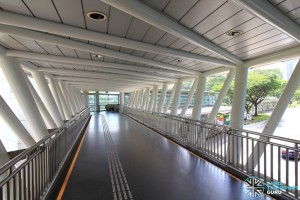 Dover MRT Station - Linkbridge to exits