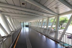Dover MRT Station - Linkbridge to exits