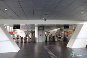 Dover MRT Station - Passenger Service Centre & Faregates