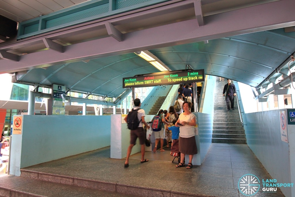 Clementi MRT Station - Exit A