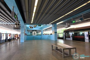 Clementi MRT Station - Platform level