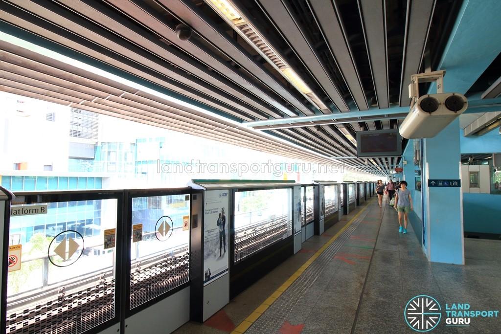 Clementi MRT Station - Platform B