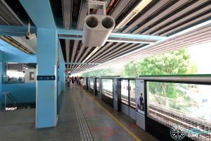 Clementi MRT Station - Platform A