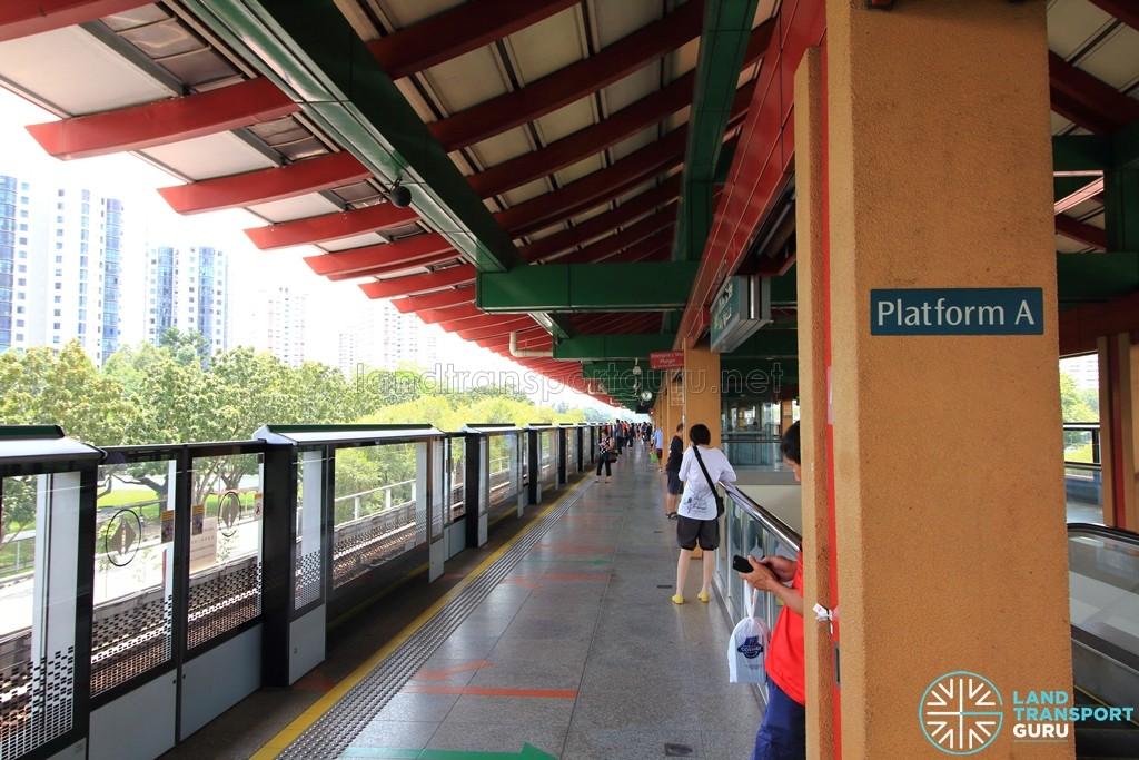 Chinese Garden MRT Station - Platform A