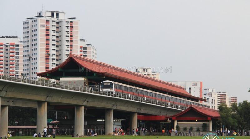 Lakeside MRT Station - Exterior