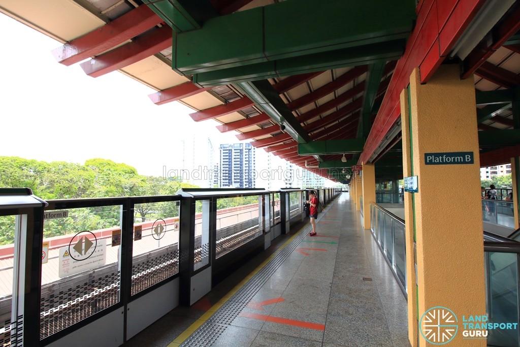 Lakeside MRT Station - Platform B