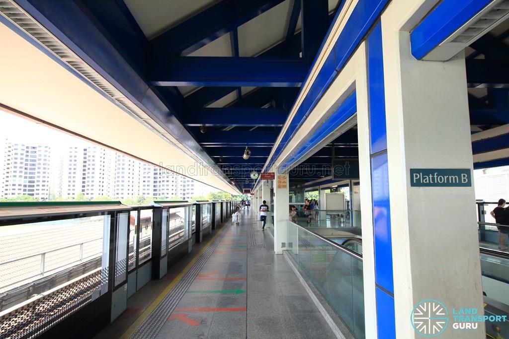 Boon Lay MRT Station - Platform B