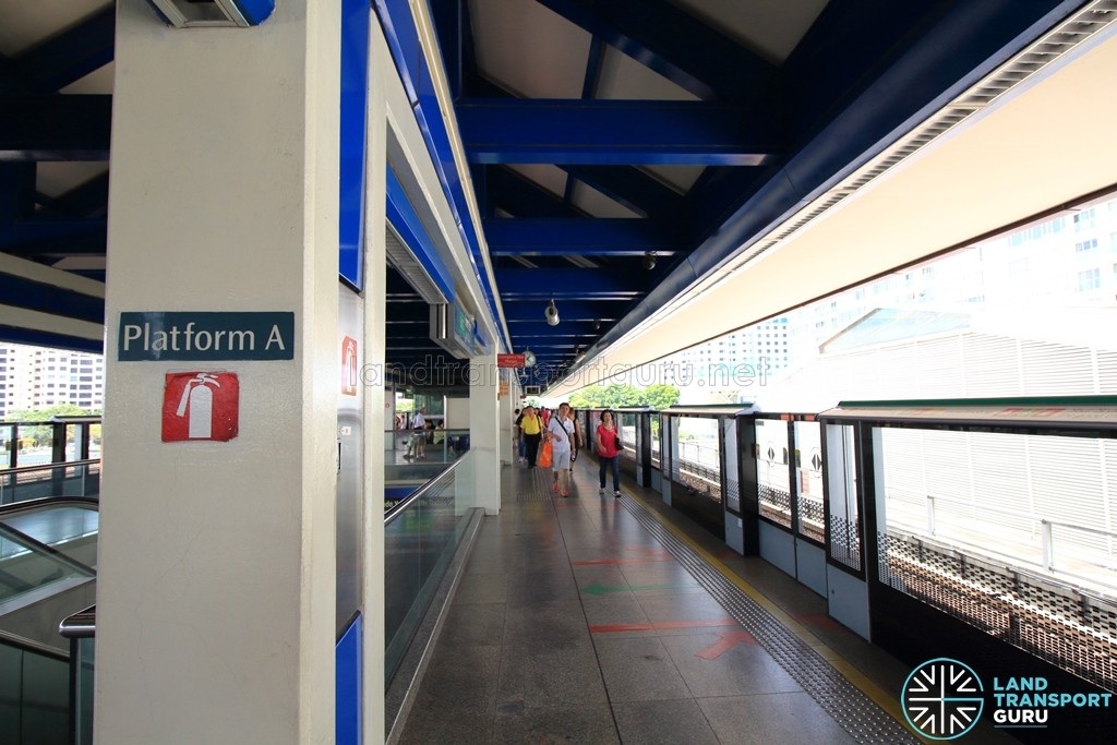 Boon Lay MRT Station - Platform A