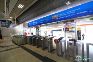 Boon Lay MRT Station - Faregates