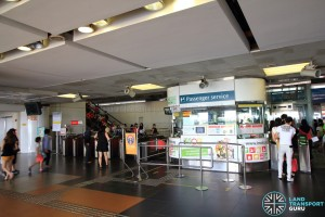 Boon Lay MRT Station - Passenger Service Centre & Faregates