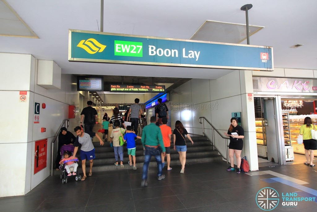 Boon Lay MRT Station - Exit C