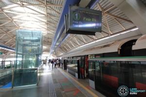 Pioneer MRT Station - Platform A