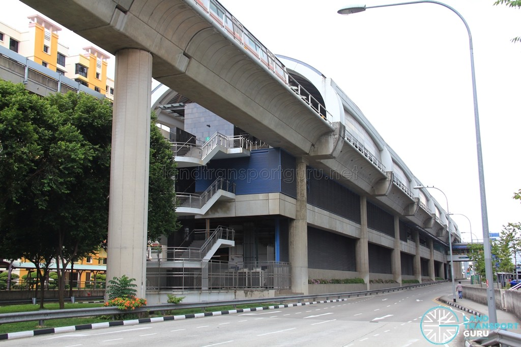 Pioneer MRT Station - Exterior