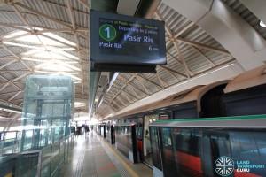 Joo Koon MRT Station - Platform A