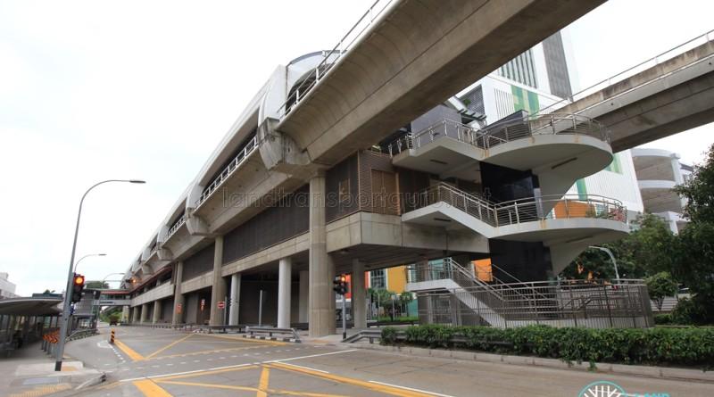 Joo Koon MRT Station - Exterior