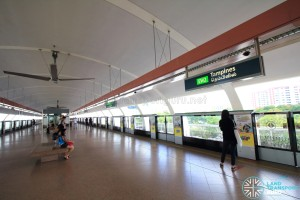 Tampines MRT Station - EWL Platform level (L2)
