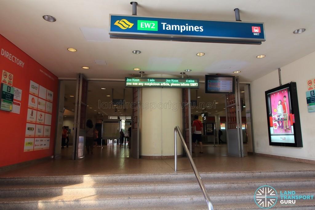 Tampines MRT Station - Exit B