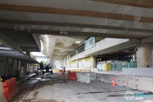 Tuas Crescent MRT Station - Construction progress (June 2016)