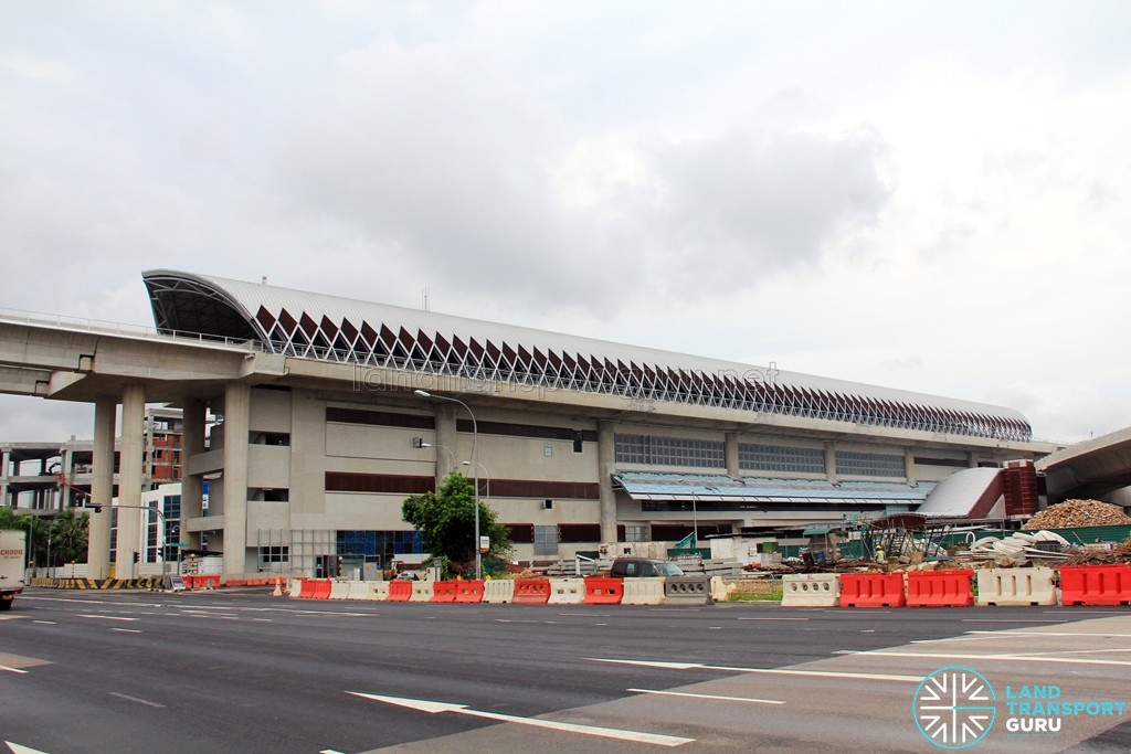 Tuas West Road Mrt Station  U2013 Construction Progress  June